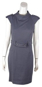 Cynthia Steffe Shift Belted Cap Sleeve Dress