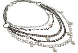 Stella & Dot Stella & Dot Avery Chains and Pearl Necklace