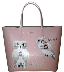 Kate Spade Tote in Pink Cream Gray