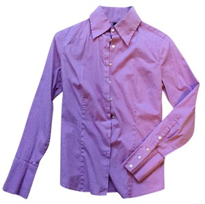 Express Button Down Shirt Light purple