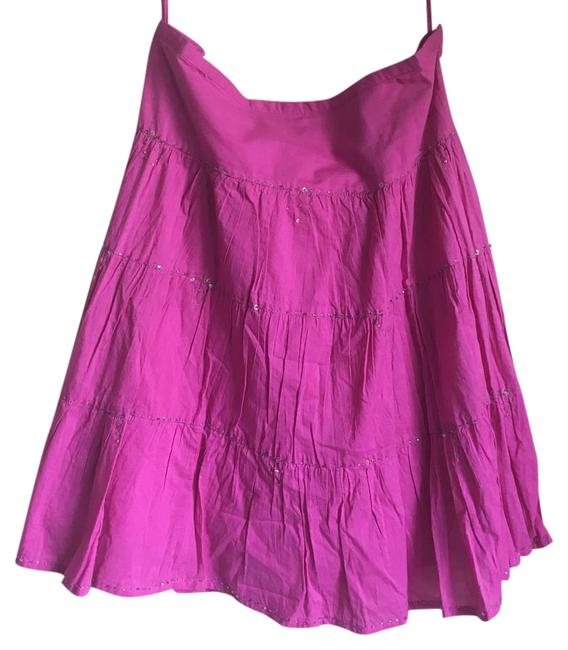 Preload https://item5.tradesy.com/images/xoxo-hot-pink-fit-and-flare-knee-length-skirt-size-8-m-29-30-19100524-0-1.jpg?width=400&height=650