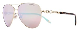 Tiffany & Co. TF 3049 TF3049-B INFINITY AVIATOR CRYSTAL JEWEL VICTORIA BLUE