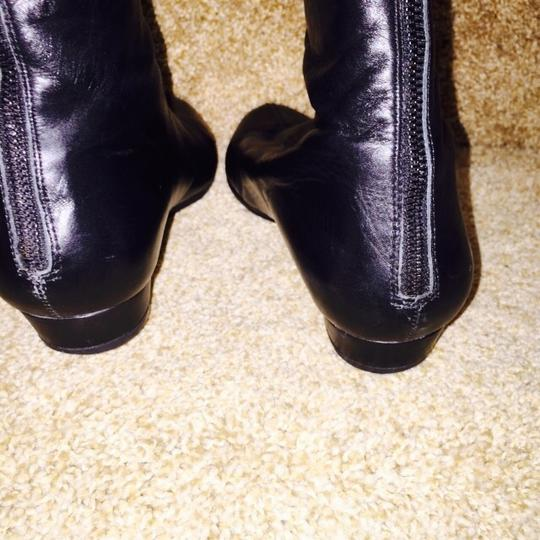 7 For All Mankind Black Boots