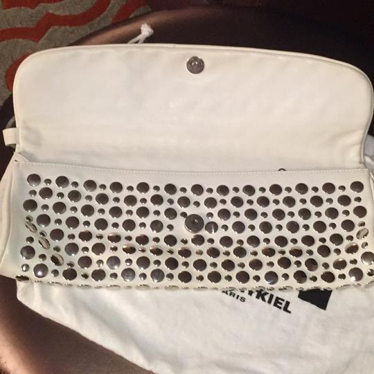 Sonia Rykiel White Clutch
