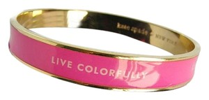 Kate Spade Kate Spade pink bangle Live Colorfully