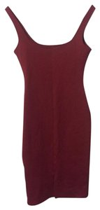 American Apparel Bodycon Backless Dress