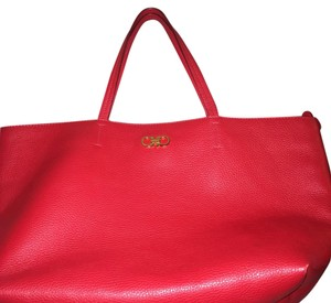 Salvatore Ferragamo Tote in Red