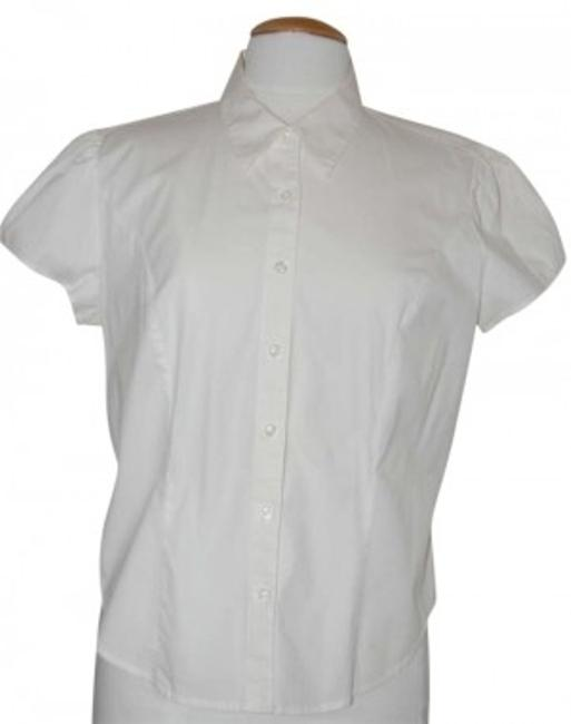 Preload https://item1.tradesy.com/images/victoria-s-secret-white-button-down-top-size-8-m-191015-0-0.jpg?width=400&height=650