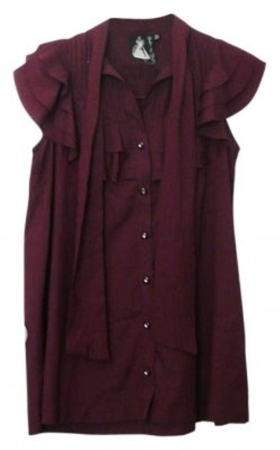 Preload https://item2.tradesy.com/images/h-and-m-maroon-blouse-size-10-m-191016-0-0.jpg?width=400&height=650