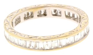 14K 1.5 CTS diamond eternity band ring