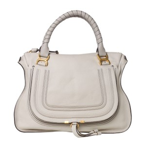 Chloé Marcie Tote in Dove Grey Chloe