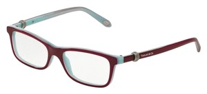 426658e92edf Tiffany   Co. TF 2112 TF2112 SQUARE SOMERSET MESH SILVER EYEGLASSES GLASSES