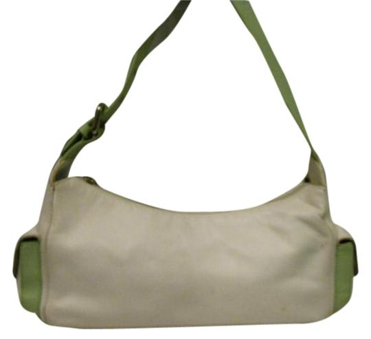 Preload https://item3.tradesy.com/images/lovcat-twotone-creammint-green-leather-shoulder-bag-19102942-0-1.jpg?width=440&height=440