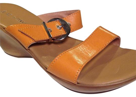 Preload https://item3.tradesy.com/images/la-canadienne-yellow-sunflower-leather-strapped-sculpted-wedge-12-sandals-size-us-8-regular-m-b-19103167-0-1.jpg?width=440&height=440