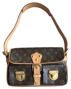 Louis Vuitton Monogram Canvas Hudson Totes Shoulder Bag