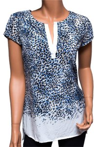 bebe Spring Summer Short-sleeve Sexy Top Multi-color