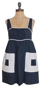 Anthropologie short dress BLUE Lucca on Tradesy