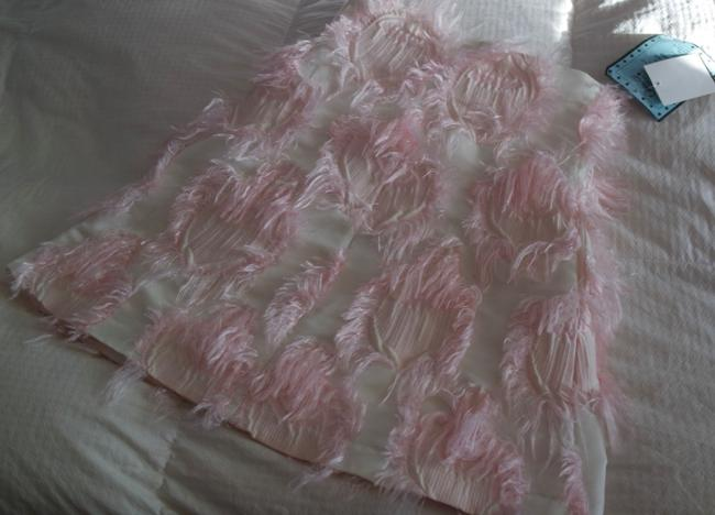 Giambattista Valli Giamba Heart Knee Length Girly Skirt Pink