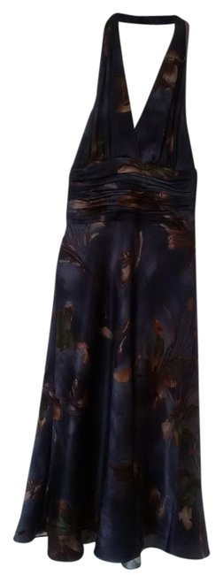 Preload https://img-static.tradesy.com/item/19104274/anne-klein-multi-color-bgluebgrown-silk-halter-knee-length-night-out-dress-size-4-s-0-1-650-650.jpg