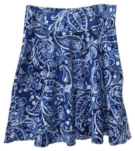 Ralph Lauren Skirt Blue/White