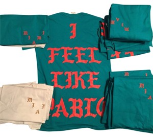 adidas Kanye West I Feel Like Pablo Pablo Miami T Shirt Teal