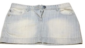 Cotton On Mini Skirt Light blue