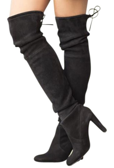 Preload https://img-static.tradesy.com/item/19105114/stuart-weitzman-black-highland-suede-bootsbooties-size-us-95-regular-m-b-0-2-540-540.jpg