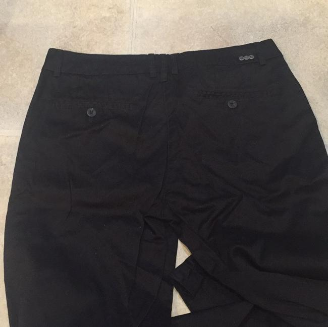 Mango Straight Pants Black