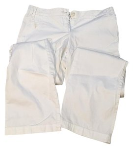 Mango Straight Pants White