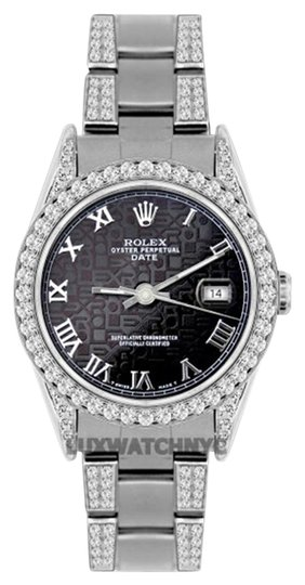 Preload https://item1.tradesy.com/images/rolex-45ct-34mm-date-ss-w-box-and-appraisal-watch-19105330-0-1.jpg?width=440&height=440