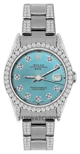 Preload https://item2.tradesy.com/images/rolex-45ct-34mm-date-ss-w-box-and-appraisal-watch-19105351-0-1.jpg?width=440&height=440