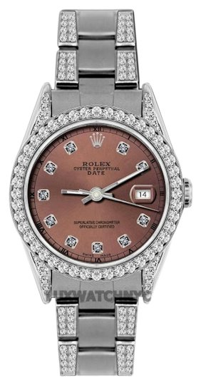 Preload https://item1.tradesy.com/images/rolex-45ct-34mm-date-ss-w-box-and-appraisal-watch-19105360-0-1.jpg?width=440&height=440