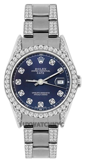 Preload https://item2.tradesy.com/images/rolex-45ct-34mm-date-ss-w-box-and-appraisal-watch-19105396-0-1.jpg?width=440&height=440