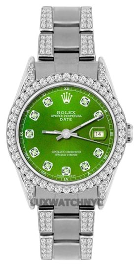 Preload https://item1.tradesy.com/images/rolex-45ct-34mm-date-ss-w-box-and-appraisal-watch-19105420-0-1.jpg?width=440&height=440