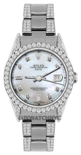 Preload https://img-static.tradesy.com/item/19105465/rolex-45ct-34mm-date-ss-w-box-and-appraisal-watch-0-1-540-540.jpg