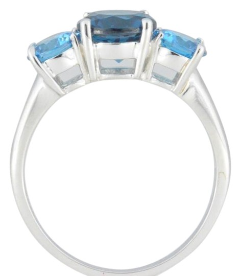 Preload https://item2.tradesy.com/images/london-blue-topaz-and-swiss-blue-topaz-round-925-sterling-silver-ring-19105696-0-1.jpg?width=440&height=440