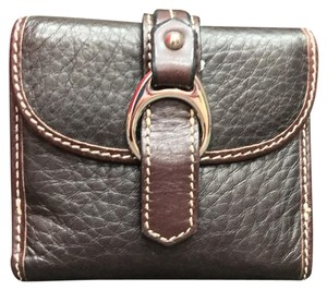 Dooney & Bourke Dooney & Bourke (D&B) Bifold Wallet With Snap Flap Closure