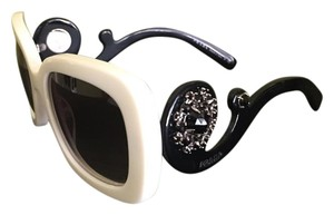 Prada LIMITED EDITION PRADA BAROQUE JEWEL-EMBELLISHED Oversize Sunglasses
