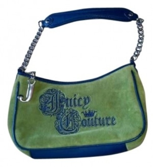Preload https://item1.tradesy.com/images/juicy-couture-small-purse-handbag-green-and-dark-blue-velour-clutch-191060-0-0.jpg?width=440&height=440