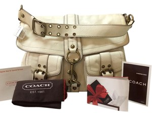 Coach Messenger Laptop Leather Brass Messenger Bag