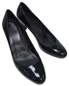 Calvin Klein Leather Pump Classic Black Patent Pumps