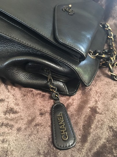 Chanel Satchel in Black / Gold hardware