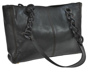 Chanel Tote in Black/Wood Chain