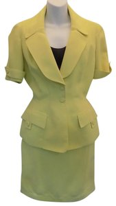 Thierry Mugler Yellow 2 PC Yellow Blazer