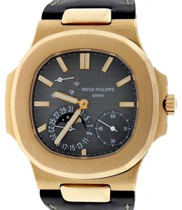 Patek Philippe Patek Philippe Nautilus Rose Gold Moonphase Power Reserve Box&Papers