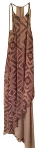 brown Maxi Dress by BCBGeneration Bcbg Maxi Hi Lo