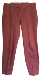 J.Crew J. Crew Capri Cropped Capri/Cropped Pants Dusty Rose