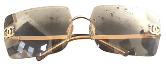 Preload https://item3.tradesy.com/images/chanel-gold-sunglasses-19112212-0-1.jpg?width=440&height=440