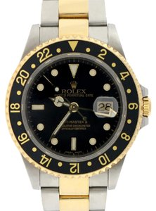 Rolex Rolex GMT-Master II 2-Tone Gold/Steel 16713 Box&Papers No Holes 2005
