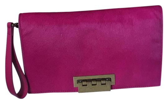 Preload https://img-static.tradesy.com/item/19112584/zac-posen-fusia-pony-hair-and-leather-clutch-0-1-540-540.jpg